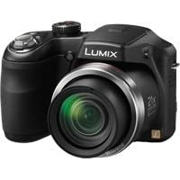 Panasonic Lumix DMC-LZ20 16.1MP Point-and-Shoot Digital Camera (Black) with 4GB SD Card, Carry Case