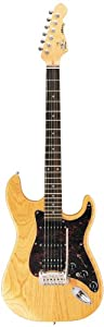 G&L Tribute Legacy HB 6 string guitar with Natural Gloss finish and rosewood fingerboard