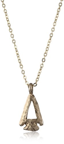 Low Luv by Erin Wasson 14k Gold-Plated Cut Out Arrowhead Pendant Necklace