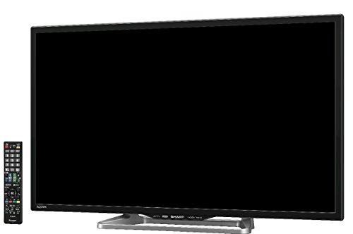 シャープ AQUOS 液晶テレビ 32型 ブラック系 LC-32W25-B