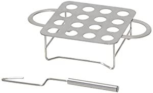 Cameron Cookware CR Chile Roasta Stainless-Steel 16-Hole Chile Rack