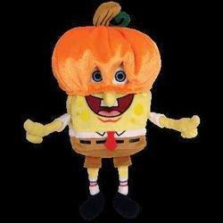 Ty Beanie Babies - SpongeBob PumpkinMask - 1