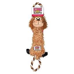 KONG Tugger Knots Lion Dog Toy, Medium/Large