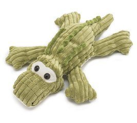 "Wally the Gator 14"" Long Green Plush Animal - 1"