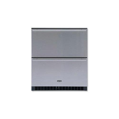 "Marvel 30"" Refrigerator Drawers, Black"
