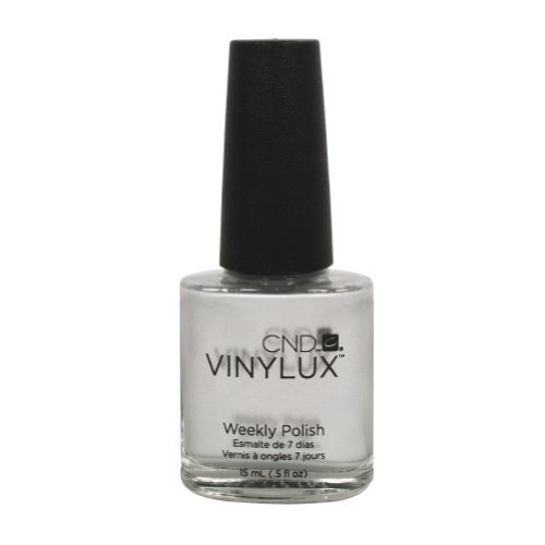 148 Cnd - Vinylux Silver Chrome Weekly Polish Coat Color Nail Grey Glossy 0.5 Oz