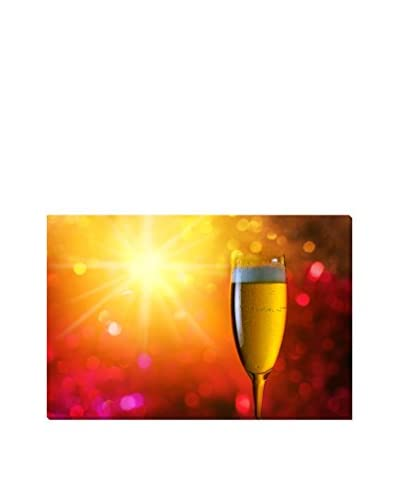 Champagne Giclee On Canvas