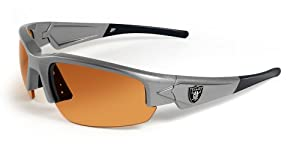 NFL Oakland Raiders Dynasty Sunglasses with Bag by Maxx
