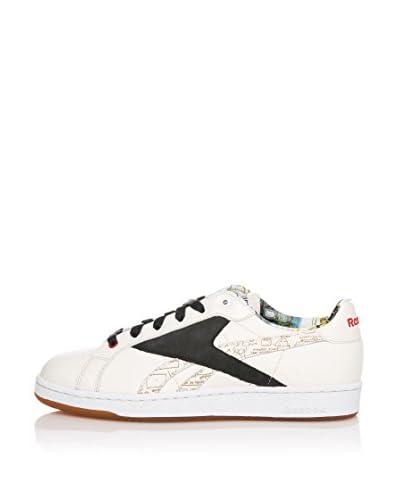 Reebok Sneaker Npc Uk Basquiat Olympic [Bianco/Nero/Rosso]