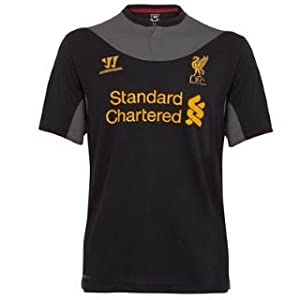 Warrior Liverpool Away Shirt 2012 2013 Black Large