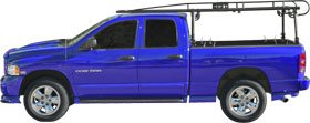 Titan Universal Contractor Pickup Truck Ladder Rack With