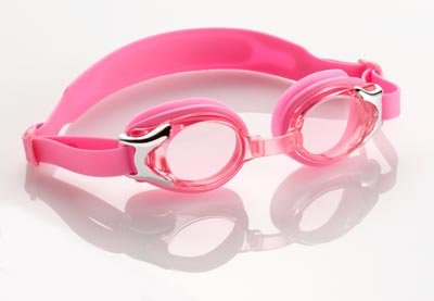 Girl's Baby Banz UV Swim Goggles (Pink)