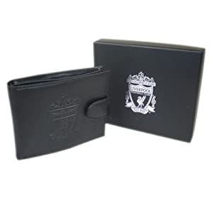 Official Liverpool FC Embossed Crest Leather Wallet - A Great Christmas, Birthday, Valentine, Anniversary Gift For Husbands, Fathers, Sons, Boyfriends, Friends and Any Avid Liverpool Football Club Fan Supporter from ONTRAD Limited