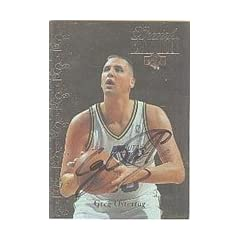 Greg Ostertag Utah Jazz 1995 Upper Deck Special Edition Autographed Hand Signed... by Hall of Fame Memorabilia