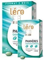 Léro Phanères Cheveux et Ongles 90 Capsules + 30 Capsules Offertes