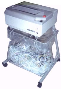 Oztec 1675-FS Industrial Folding Stand Office Shredder