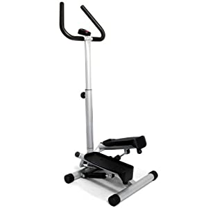 Sunny Health & Fitness Twister Stepper with Handle Bar by Sunny Distributor Inc