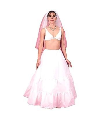 (CH133NM) A Medium Full Bridal Petticoat Crinoline Slip