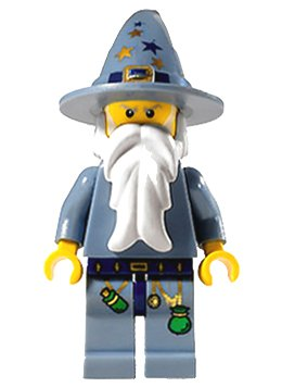 LEGO Castle Minifigure Good Wizard - 1
