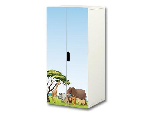 Tierwelt aufkleber set passend f r den kinderzimmer for Ikea kinderspiel