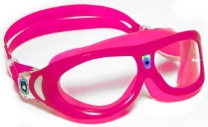 Aqua Sphere Seal Kid Swim Goggle (Clear Lens, Pink)