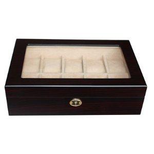 Amazon.com: Men's Elegant 10 Piece Ebony Dark Wood Wooden