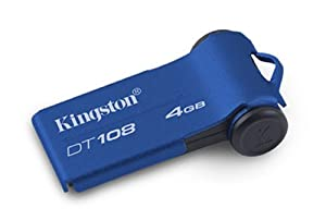 Kingston DT108/4GB Datatraveler 108 - Memoria USB 4096 MB