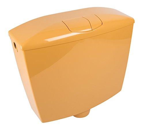 Spülkasten Karat | Kunststoff | 2 Mengen Spültechnik | 3,5 Liter oder 6 - 9 Liter | Tiefspülkasten | WC, Toilette | Curry