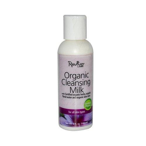 Reviva Labs Organic Cleansing Milk 4 Fl Oz