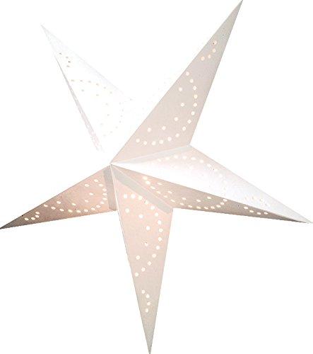 Luna Bazaar White 24 Inch Paper Star Lantern