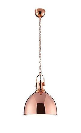 trio leuchten 300500109 pendant light copper coloured. Black Bedroom Furniture Sets. Home Design Ideas