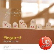 3Pcs/Lot 200 Pages Cute Ten Fingers Sticker Post-It Bookmark Flags Memo Sticky Notepads