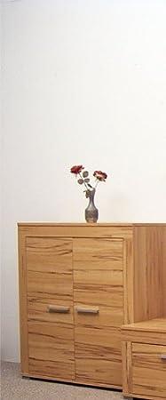 2-3-1970: made in BRD - Serie AWK - Kommode - Anrichte - Anstellschrank - Wohnschrank - 2 Turen - Kernbuche dekor