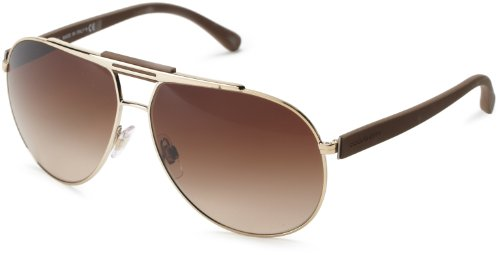 D&G Dolce & Gabbana 0DG2119 119013 Aviator Sunglasses,Pale Gold,62 mm