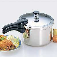 National Presto 01341 Stainless Steel Pressure Cooker from Presto Pressure Cookers