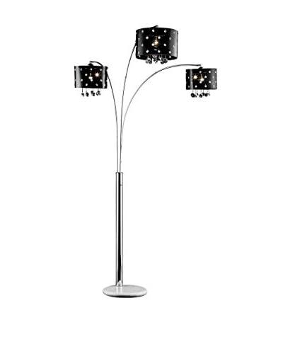 ORE International Star Crystal Arch Lamp