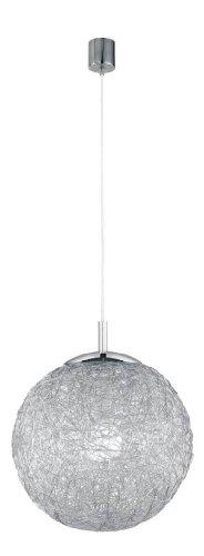 Paul Neuhaus - Lampadario a sospensione 1xE27 / 100W, metallo cromato