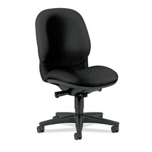 Hon High-Back Executive Chair, 25-3/4 by 29-1/2 by 41-1/2-Inch, Black