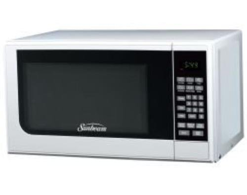Sunbeam Sgc7701 Microwave Oven - Single - 0.70 Ft Main Oven - 10 Power Levels - 700 W Microwave Power - Countertop - White