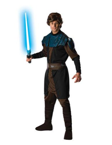 Anakin Skywalker Dlx Adult Xl Adult Mens Costume