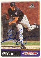 Greg Swindell Arizona Diamondbacks 2002 Topps Total Autographed Hand Signed Trading... by Hall+of+Fame+Memorabilia