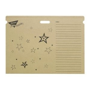 Trend T1023 File 'n Save System Chart Storage Folder, 30-1/2 x 22-1/2, Bright Stars Design (TEPT1023)