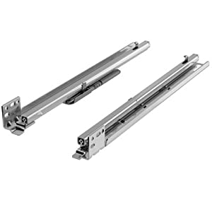 Hettich Quadro FAQ Undermount Rear Mount Drawer Slide with Soft Close