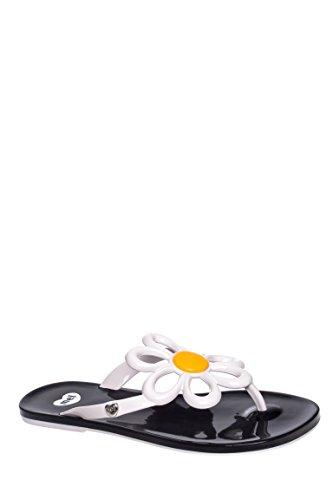 Flower Flip Flop Sandal