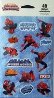 Marvel Ultimate Spider-man Stickers (45 Stickers)