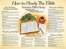 How to Study the Bible Wall Chart-Laminated (How to Study the Bible Chart)