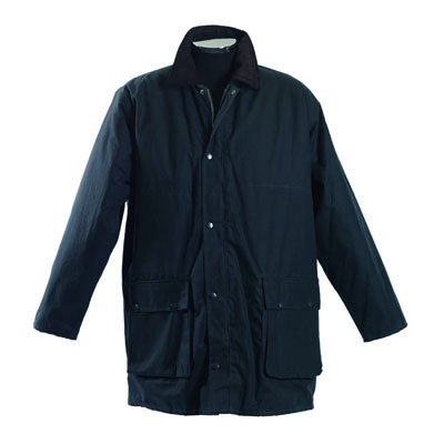 Stormafit Navy Blue Windsor Mens Wax Jacket - Size X-Large