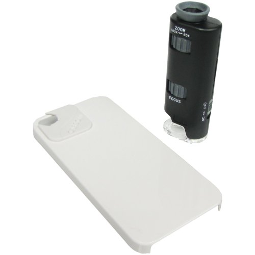 Carson Mm-250 Micromax Plus Iphone(R) 4/4S Adapter Microscope