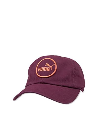 Puma Men's Rush Relaxed Fit Adjustable Cap Hat, Purple, One Size