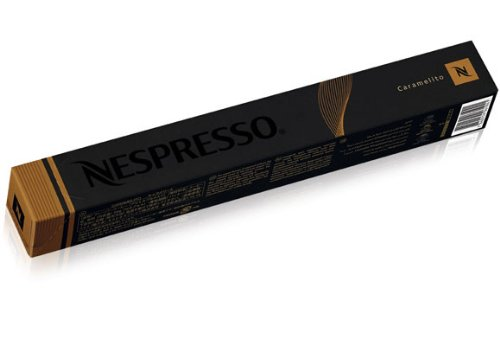 Choose Box Of 10 Nespresso Caramelito Flavoured Coffee Capsules - NESPRESSO